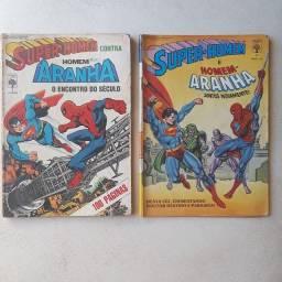 Edição de luxo ( superman / Homem Aranha