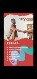 Cursos profissionalizante, com matricula gratis