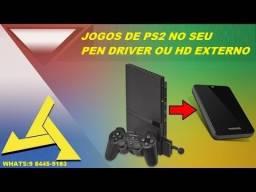 @br>Jogos de PS2 em Pen Drive!top!!