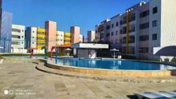 Apartamento com 03 dormitórios em frente ao Chico do Caranguejo Cumbuco