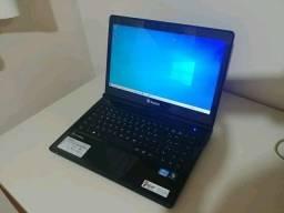 "Notebook Itautec i3 4Ram SSD ""foguete"" até 12x"