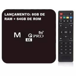 Tv Box 8gb De Ram 64gb Pro 4k 5g- Android 10.1 Novidade Brasil