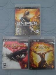 Jogos de PS3 (R$50,00 cada)