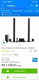 Home theater LG 1000W bluetooth