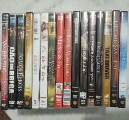 Kit com 16 DVD's originais em excelentes condições