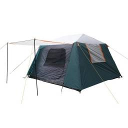 Barraca Para Camping Até 6 Pessoas Nautika Flash Montagem Super Rápida - Verde