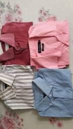 Vendo 4 camisas sociais