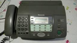 Faz, telefone, secretaria com identificador de chamada