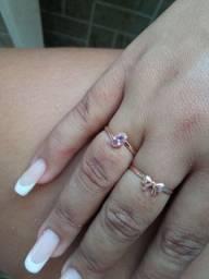 Dois anéis lindo
