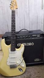 Guitarra Tagima e cubo Meteoro (vintage)