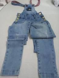 Jardineira jeans P