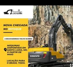 2 ESCAVADEIRAS VOLVO EC380D
