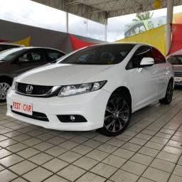 Honda Civic 2.0 LXR 2015 Aut Com Gás G5 *IPVA 2021 Grátis (81) 9 9124.0560