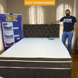 CAMA ANTIESTRESSE QUANTUM CASAL - FRETE GRÁTIS - PROMOÇÃO