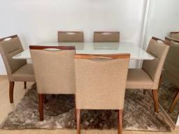 Mesa com 6 lugares