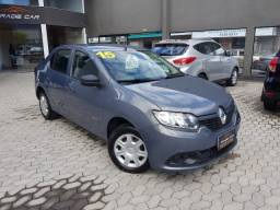 Renault Logan Authentique 1.0  Completo 2015