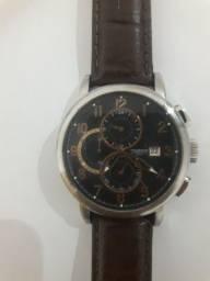 relogio technos 45 mm cronografo