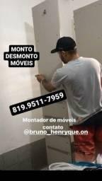 MONTO E DESMONTO MÓVEIS