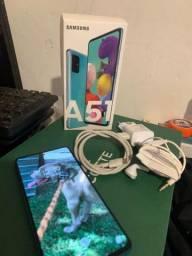 Samsung a51 Usado-estado de novo