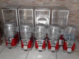 Máquina Vending Machine Kit Completo, Com Cofre E Pedestais.
