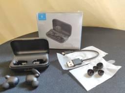 Fone de ouvido Bluetooth Haylou T15 ** Original **