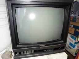 Tv Antiga Retrô Preta