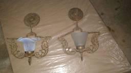Lustre antigo decoração