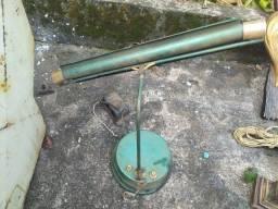 Luminária de Mesa Antiga - Não Testada
