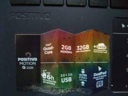 "Notebook Q232b Motion Positivo 2Gb 32Gb 14"""