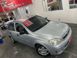 Título do anúncio: 3.000 entrada +60x !!! Chevrolet Corsa 2011 flex/GNV