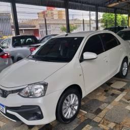 ethios sedan 1.5 xs automatico 2018 (muito novo todo revisado)