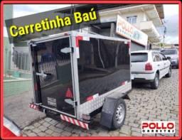 Transporte o que Precisa Carretinha Reboque Carretas Pollo