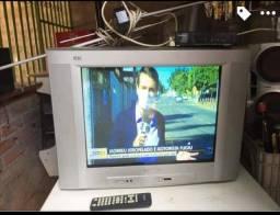 Tv,conversor e antena