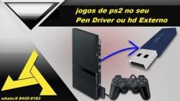 R$ 50 jogos> ps2nopendriverouhdexternojogosps2 no pen driver ou hd externo jogosps2