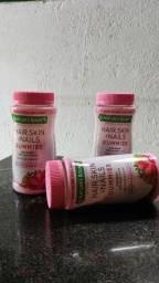 Vitaminas que auxiliam no crescimento e fortalecimento das unhas cabelos e melhora a pele