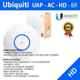 Ubiquiti Unifi AP-AC-HD - BR (2.4/5GHZ 800/1733MBPS) - Novo  Pronta Entrega