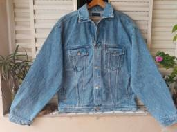 Jaqueta Jeans Vintage Bunnys Oversize anos 90