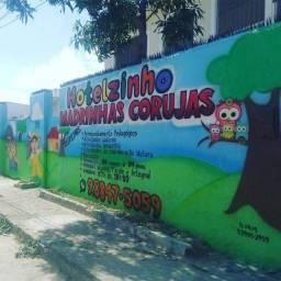 Grafiteiro creche hotelzinho Roupas