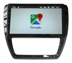 multimidia volkswagen jetta 10 polegadas aikon gps android 9 memoria flash 16gb ram 2gb