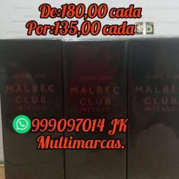 Malbec Club intenso Por 135,00 avista