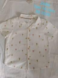 Camisa Zara infantil