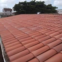 Paulo sos tiramos Goteira reforma de Telhados estrutura fazemos coberta pregolado