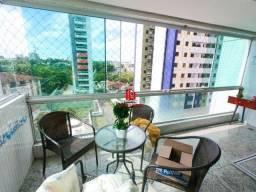 Apartamento no Parque Dez Riviera Francesa 155m² 03 Suítes Mobiliado
