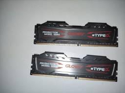 Kit 16GB memória RAM DDR4 3000mhz