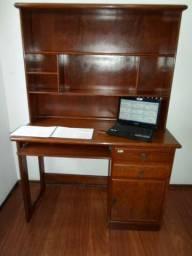 Super Escrivaninha com luminária / Estante / Porta mochilas / Livros / porta retratos
