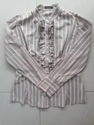 Camisa feminina Listrada