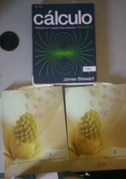 Livros de Calculo e Química Orgânica