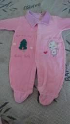Macacão de bebe menina