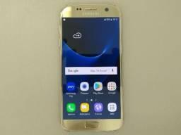Galaxy S7 Dourado 32gb, Zerado, Nota Fiscal