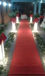 Serviços de buffet, crepe e decoração em geral